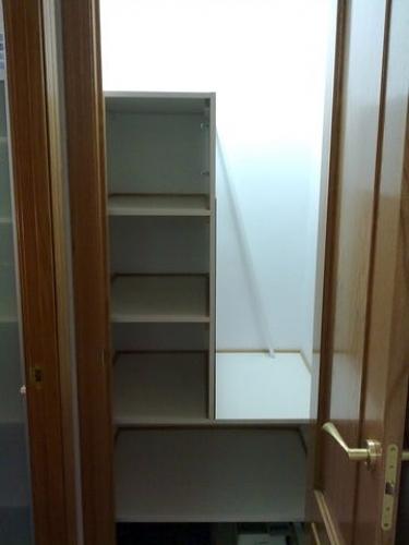 vista interior armario