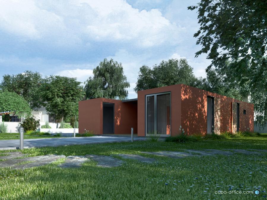 Foto casas modulares prefabricadas de cubo arquitectura y - Casas prefabricadas granada ...