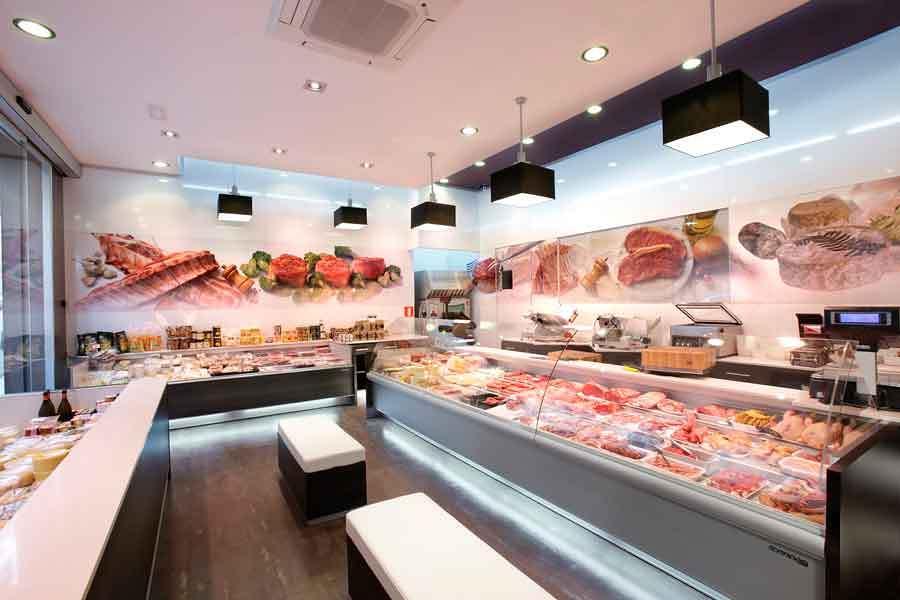 Foto vista latera linterior de tienda carniceria manera de dpvdisseny 620259 habitissimo - Decoracion carnicerias ...