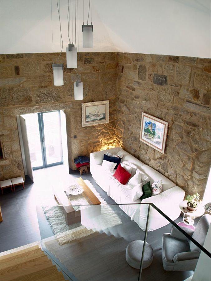 Vista superior del salón