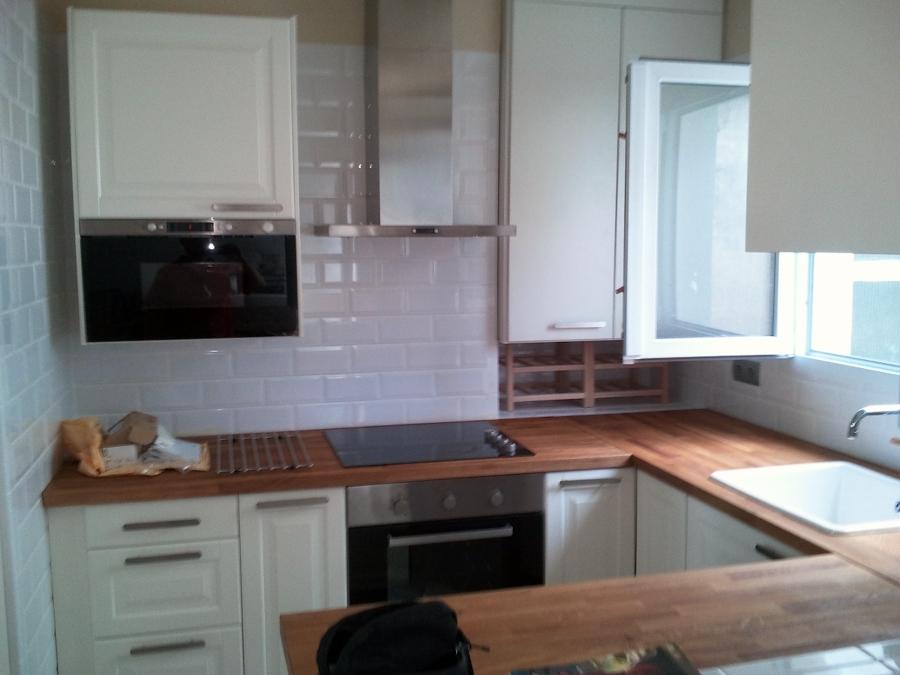 vistas de la cocina ya reformada