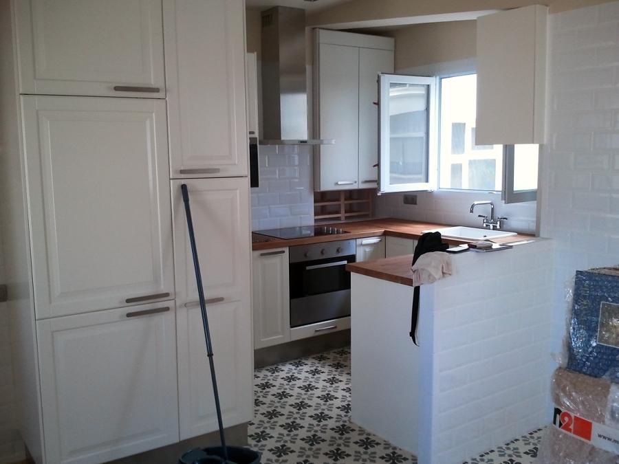 Foto vistas de la entrada en la cocina de alidec reformas for Vistas de cocinas