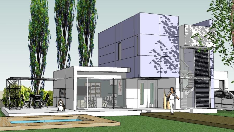 Foto vivienda minimalista 1 de taller de arquitectura for Casa minimalista tarragona