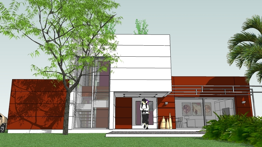 Foto vivienda minimalista 2 de taller de arquitectura for Casa minimalista tarragona