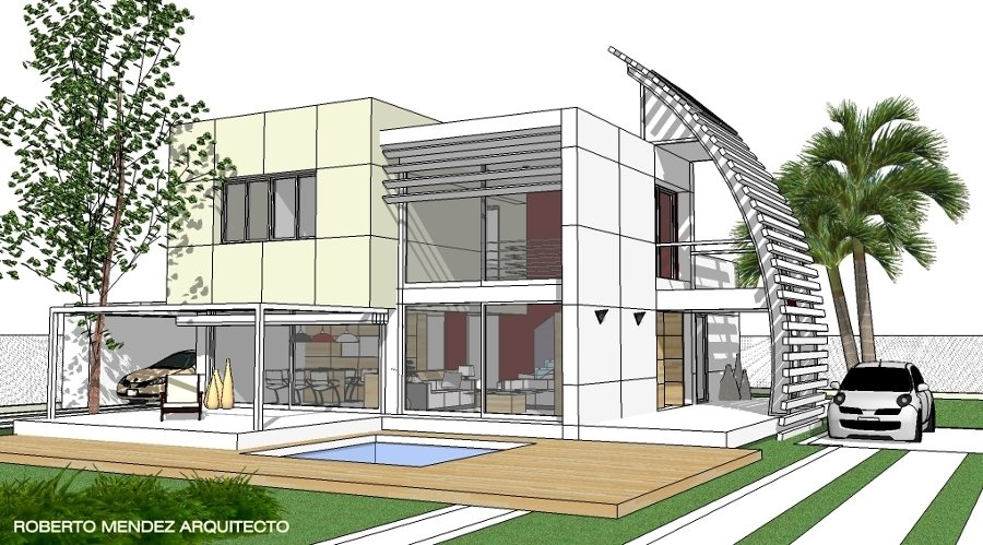 Foto vivienda minimalista 3 de taller de arquitectura for Viviendas estilo minimalista