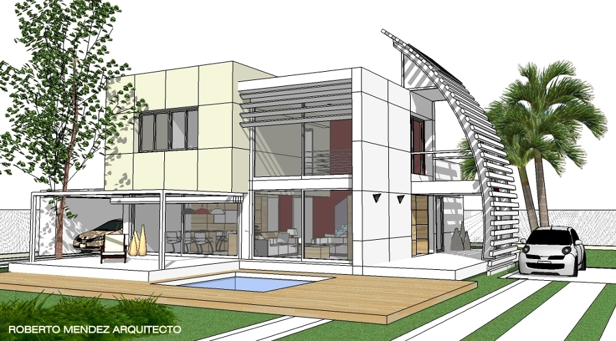 Foto vivienda minimalista 3 de taller de arquitectura for Foto casa minimalista