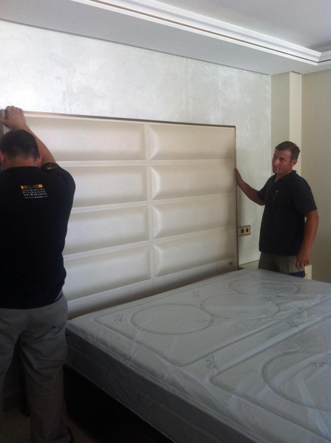 Vivienda particular- montaje e instalación mobiliario y carpinteria