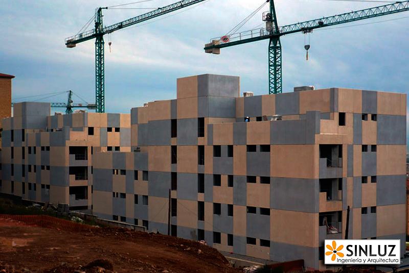 Vivienda plurifamiliar de más de 40 viviendas