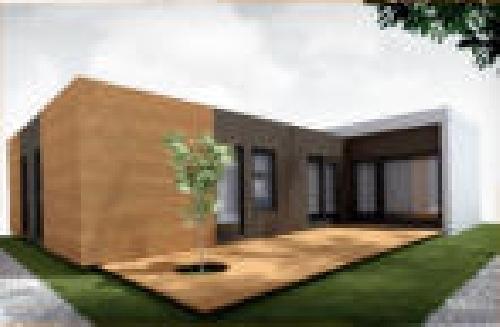 Foto vivienda uifamiliar de grupo stil catalunya casas - Casas modulares barcelona ...