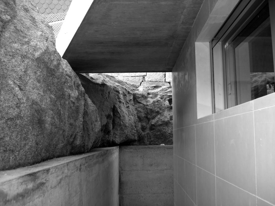 Foto vivienda unifamiliar adosada en fragoselo coruxo - Arquitectos en pontevedra ...