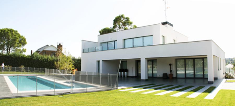 Foto vivienda unifamiliar dise o minimalista de arquitectos madrid 2 0 533362 habitissimo - App diseno casas ...