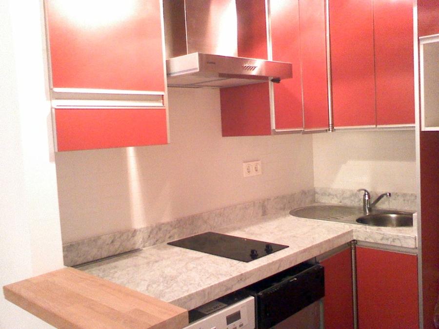 Vivienda unifamiliar en bloque sita en Málaga. Cocina 2