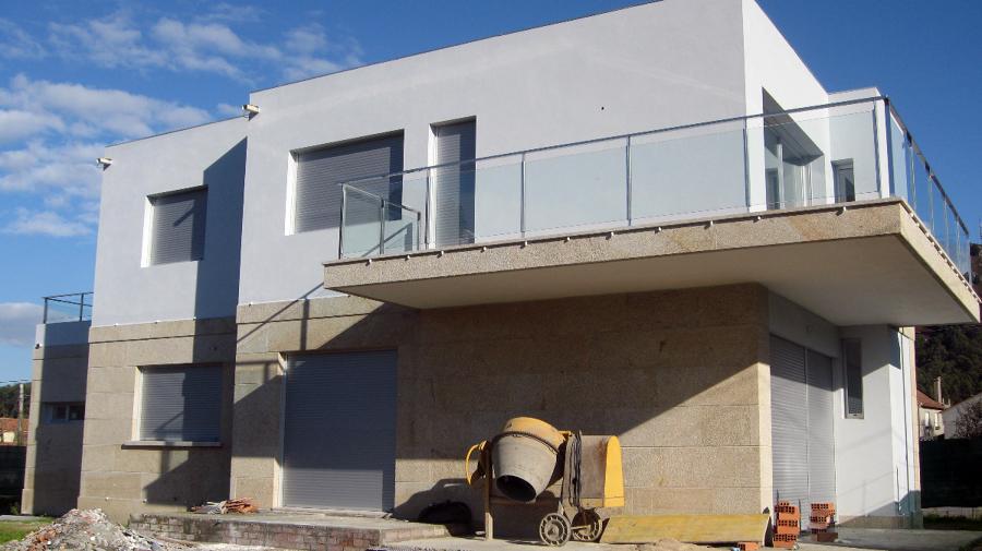 Foto vivienda unifamiliar en herbello ald n cangas - Arquitectos en pontevedra ...