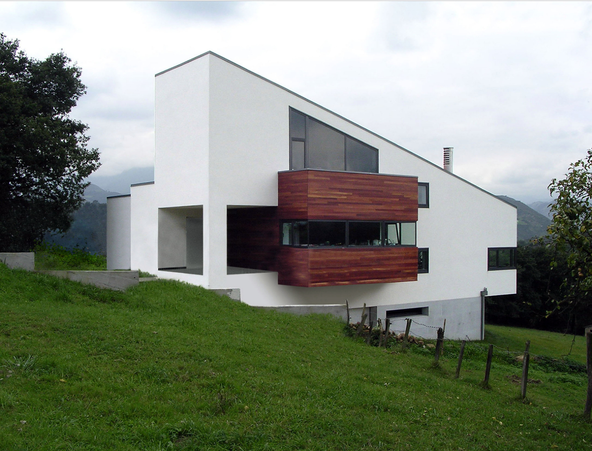Foto vivienda unifamiliar en latores de blanco - Arquitectos en soria ...