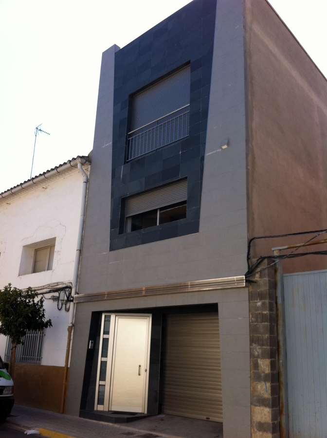 Foto vivienda unifamiliar entre medianeras de arquitecto - Vivienda unifamiliar entre medianeras ...
