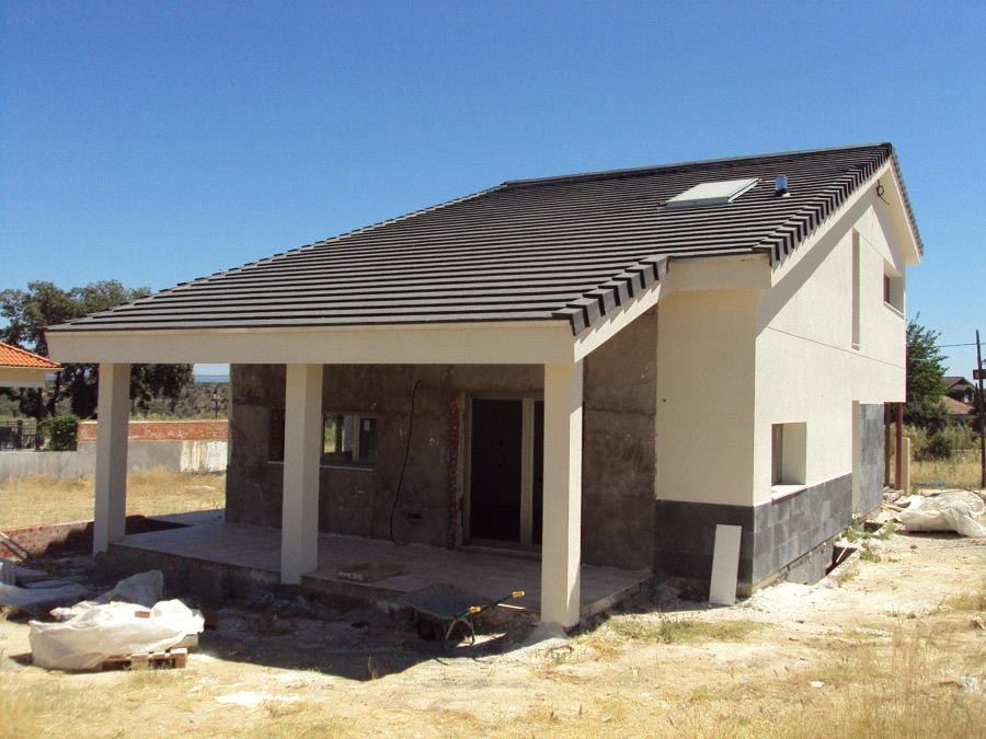 Foto vivienda unifamiliar pareada de estudio de for Vivienda unifamiliar arquitectura