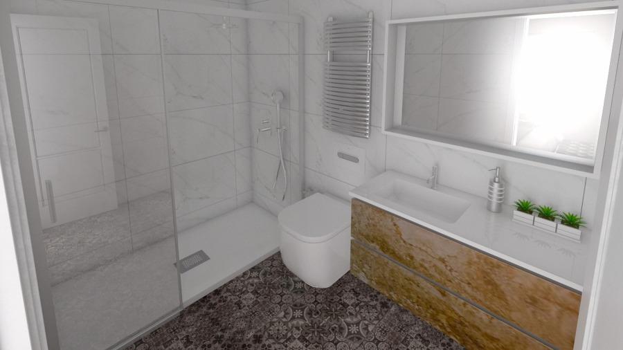 Reforma de baño en Barcelona por Rysibcn.