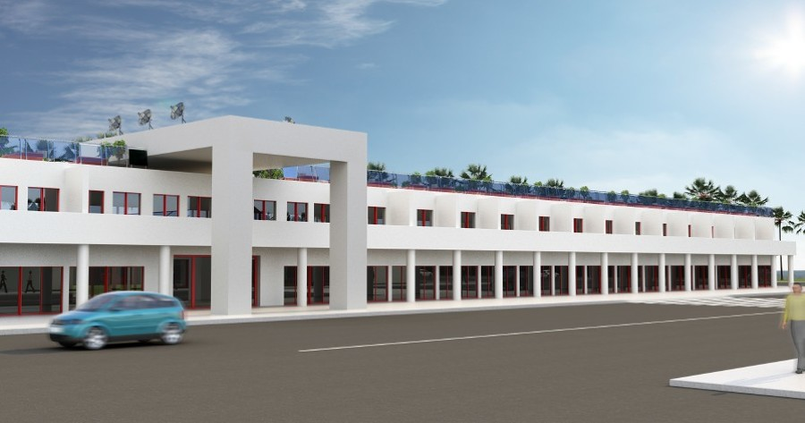 Diseño realizado para un hotel en Haiti