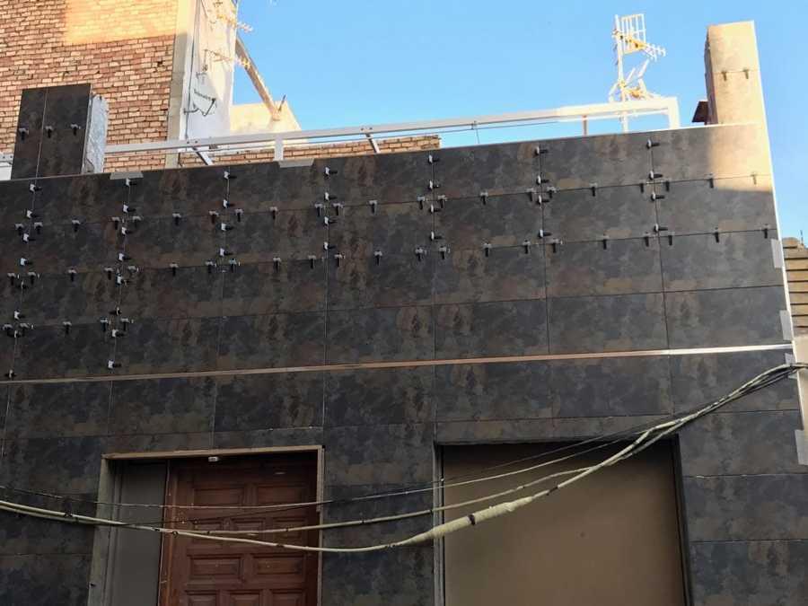 Revestimientos fachadas