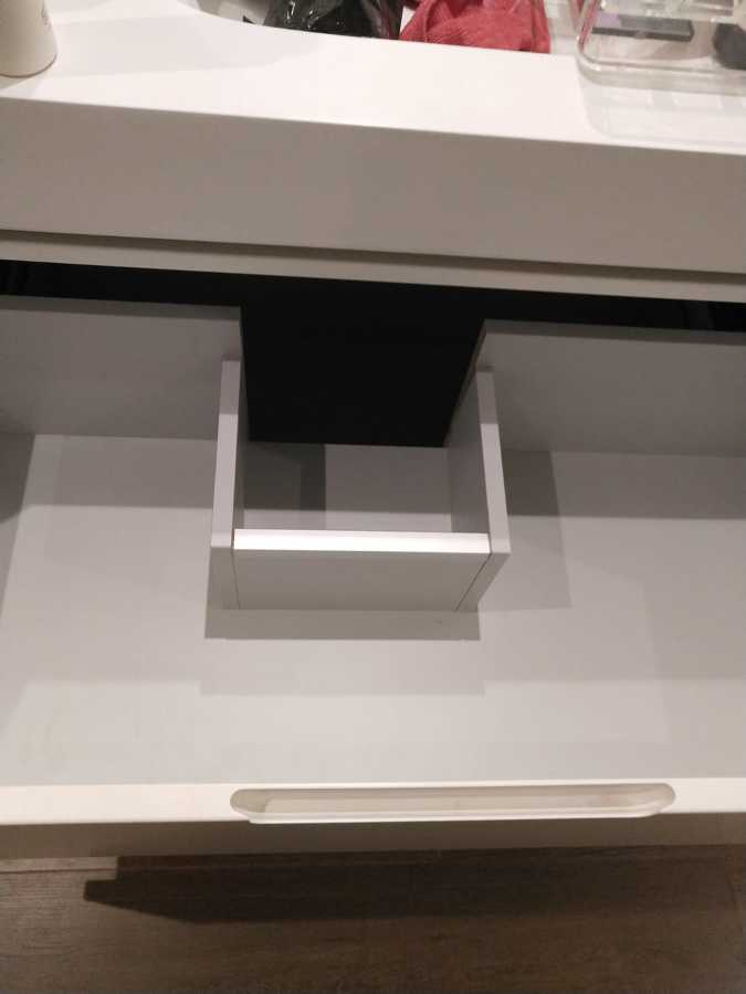 Cajones mueble diseño