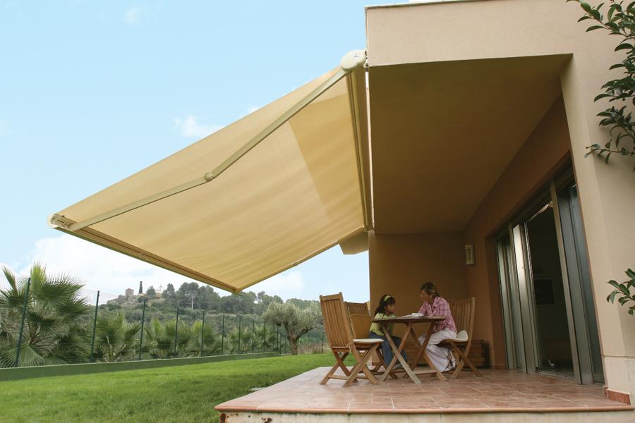 Tejidos técnicos para toldos y cortinas