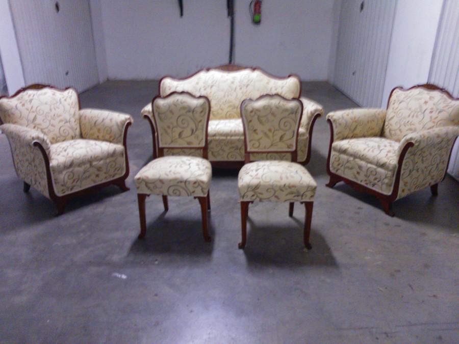 Foto conjunto de sofa sillas y butaca de tapizados raul ordo ez 762222 habitissimo - Tapiceros tarragona ...