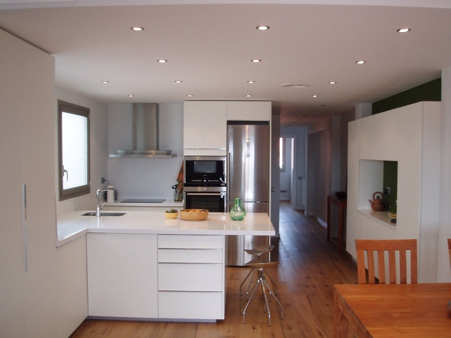 Foto cocina americana de carpinteria de aluminio raul for Fotos reformas cocinas