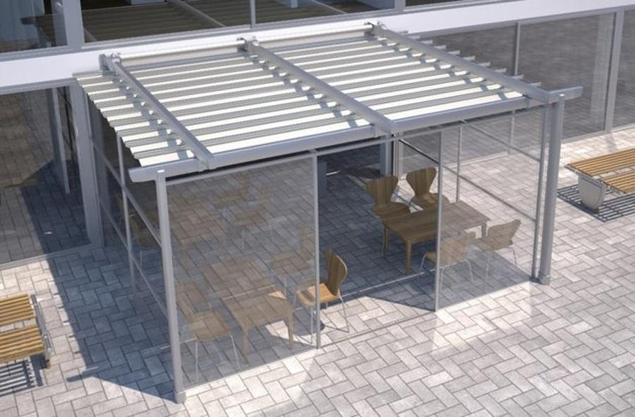 Foto residencial terrazas y ticos p rgolas y carpas for Jardines zen valladolid