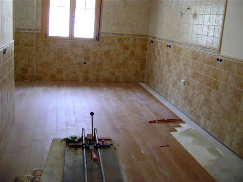 zocalo y colocacion de piso