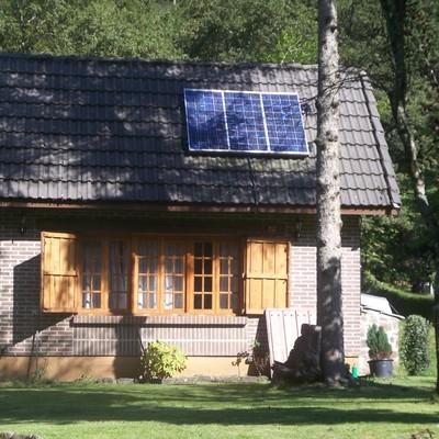 Fotovoltaica Aislada de Red en Saja (Cantabria)