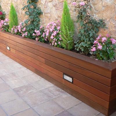 jardinera madera ipe