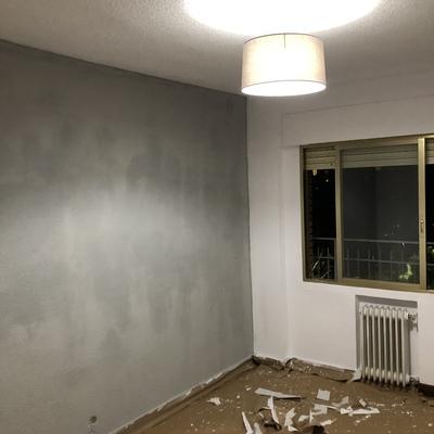 Limpieza y pintado de habitación