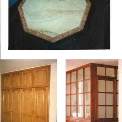 Imitación a marmol y barnizados