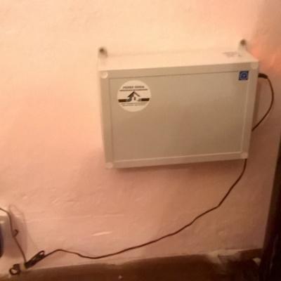 Equipo electro-física