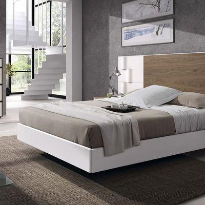 Dormitorio Nogal Americano con Lacado Blanco
