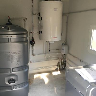 Instalación cuarto calefacción