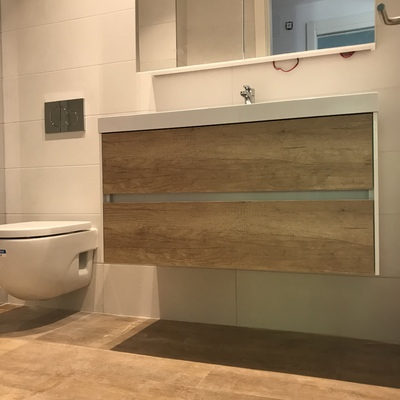 Reforma piso wc