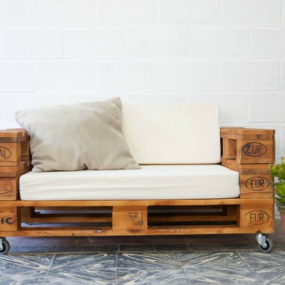 Sofa palet ECOdECO Mobliario