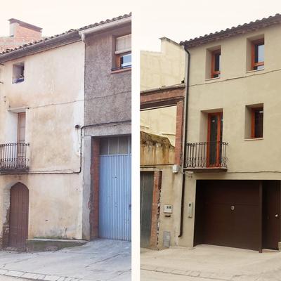 refomra estructural cubierta y fachada