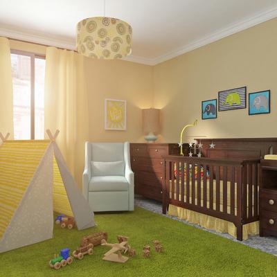 Diseño 3D - Habitación para bebé