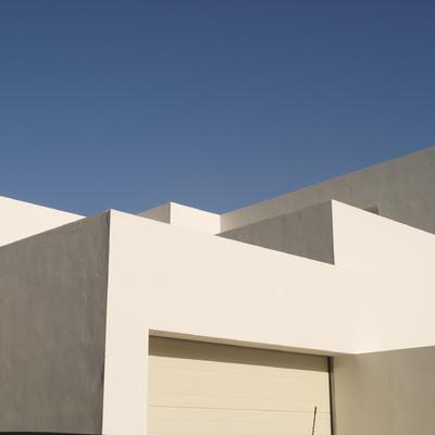 Detalle fachada vivienda Marbella