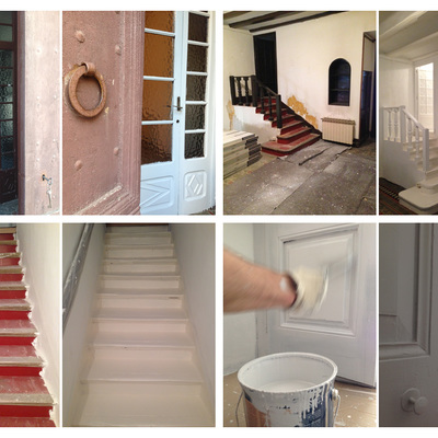 Pintar casa.