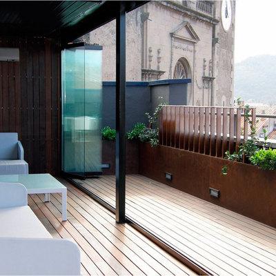 Cerramiento plegable terraza