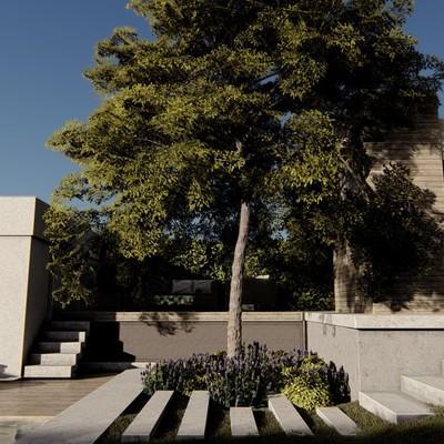 Diseño de Jardin Mendoza Argentina I