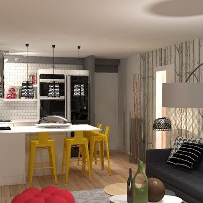 Vista Panorámica Apartamento Soltero 01