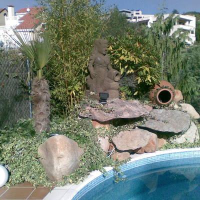 Cascadas decorativas para pisinas
