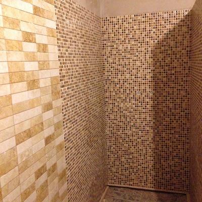 Plato ducha realizado in situ
