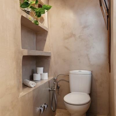 Baño paredes microcemento