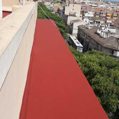 Impermeabilización de terraza