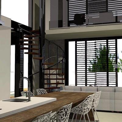 UNIFAMILIAR 150m2 - cocina